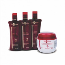 Kit Quimicamente Tratados Hidratação Intensiva Bionative 4x1