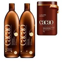 Kit Escova Progressiva Portier Cacao + Botox Cacao Portier