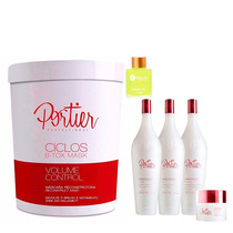 Máscara Portier Btox Ciclos1kg + Portier Fine Kit Manutenção