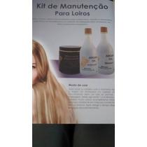 Shampoo - Condicionador E Máscara P/ Loiros W&z Cosméticos