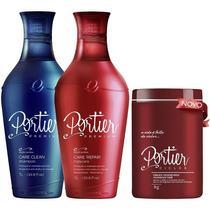 Kit Portier Fine Premium + Máscara Btx Portier Ciclos 1kg