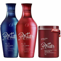 Kit Portier Fine Premium + Máscara Btx Portier Ciclos
