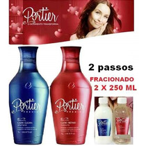 Progressiva Portier Fracionada 2x 250ml Kit +brinde Incrivel