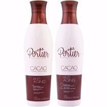 Escova Progressiva Portier Cacao - 2 Passos