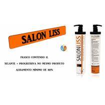 Escova Progressiva Reconstrutora Salon Liss Alisa 100%