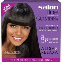 Kit Guanidina Salon Line Profissional Econômico