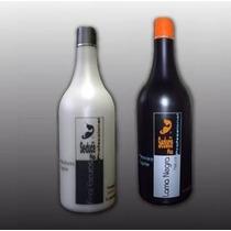 Kit Escova Progressiva Seduce Lama Negra - Embalagem Nova