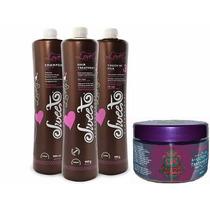 Kit Escova Sweet Hair Lovely + Máscara Alquimia Nutrição