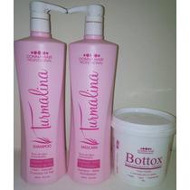 Escova Turmalina Rosa + Realinhamento Térmico - Donna Hair