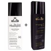 Shampoo Liso Intenso The Fit Hair Sweet + Shampoo Matizador
