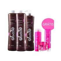 Sweet Professional Lovely Kit Escova Progressiva - 3x 980ml