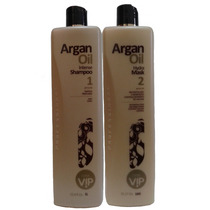 Vip Escova Progressiva Vip Argan Oil Kit 2x1000ml