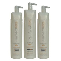 Kit Escova Progressiva Perfect Liss Turmalina Visat Hair.