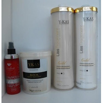 Progressiva Kit Ouro + Bbtox Y-kas + Brinde Fabulous Hair