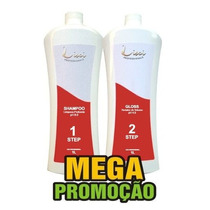 Escova Progressiva Plástica Dos Fios Lisci Argan Oil