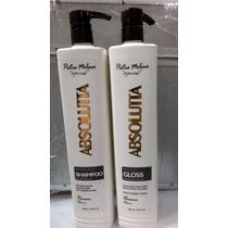 Escova Progressiva Absoluta Pietra Molina Shampoo 1l Gloss1l