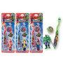 Escova Dental Infantil Marvel , Herois