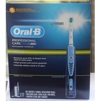 Escova Recarregável Oral B Professional Care 3000 4 Refil