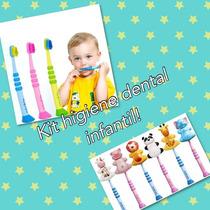 Escova Dental Infantil Curaprox + Suporte Protetor Cerdas