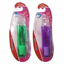120 Escova Dental Dobravel De Cerda Colors