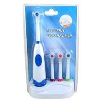 Escova De Dente Elétrica C/4 Refis Dental Care Higiene Oral