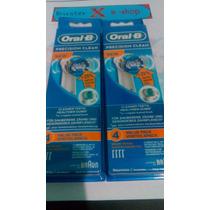 Refil Kit Oral B Braun Escova Dente Eletrica Original 8 Unid