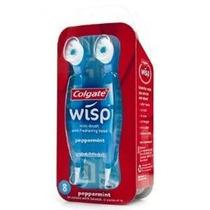 Escova De Dente Wisp Mini Toothbrush - C/ 8 Unidades