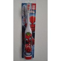 Escova Dental Elétrica Infantil Homem Aranha