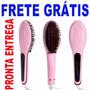 Escova Alisadora Fast Hair Straigtener Original Hqt-906 Lcd