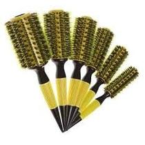 Kit C/ 6 Escovas - Valeries Hair -therm Ceramic Profissional