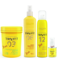 Hidratação Trivitt +fluido Escova +brilho Intenso +reparador
