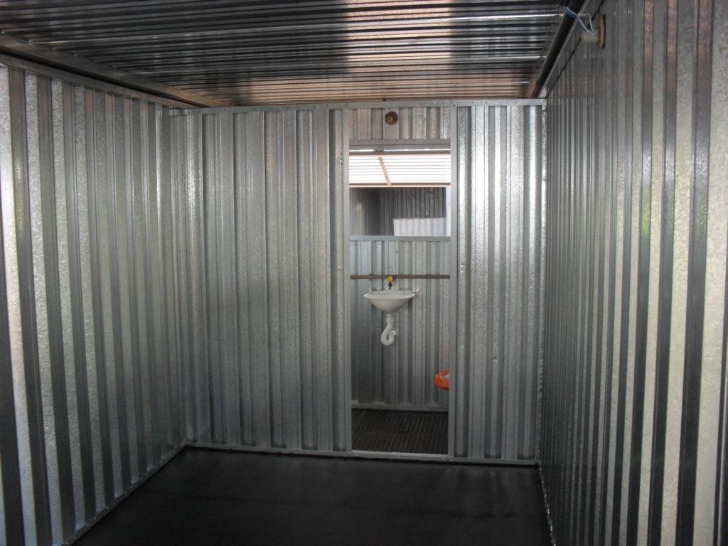 Escritorio Movel Com Banheiro Container R$ 12.300 00 no MercadoLivre #736358 1024 768