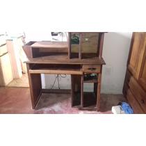 Mesa Computador Madeira Maciça