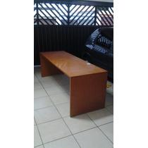 Mesa Para Escritorio Alto Padrão Madeira Maciça 25mm