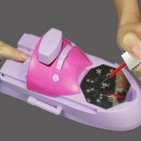 Máquina Para Decorar Unhas + 52 Figuras Printer Nail Printer