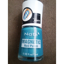 Esmalte Importado Magnético Com Ímã Estrela Nabi Bright Blue