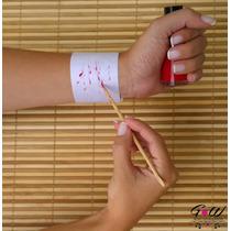 Pulseiras Manicure E Pedicure Reguláveis E Descartáveis