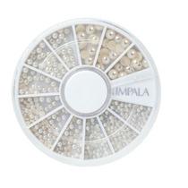 Kit Para Decoração De Unhas Pérolas, Impala