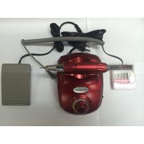 Lixa Elétrica P/ Unhas De Porcelana / Gel C/ Pedal (bivolt).