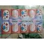 4 Cartelas De Adesivos Artesanais Para Unhas 40 Adesivos