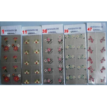 Adesivos Artesanais Para Unhas 50 Cartelas Com 500 Decalques