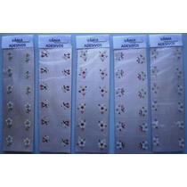 Adesivos Artesanais Para Unhas 20 Cartelas-frete Grátis