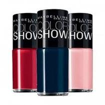 Kit Color Show Com 3 Esmaltes - Escolha As Suas Cores