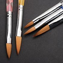 Kit 5x Pincéis Para Unhas Acrílicas / Porcelana / Desenhos