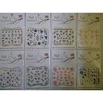 Kit 20 Cartela De Adesivo Para Unha