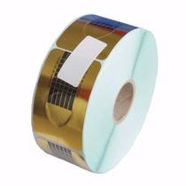 Rolo 500 Moldes Adesivos P/ Unhas Gel, Porcelana E Acrílica