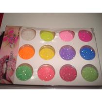 Kit Glitter 12 Cores 3d