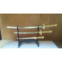 Espadas De Samurai Trio