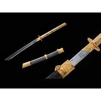 Facão Especial Qianlong De Ouro - Dinastia Qing