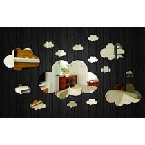 Espelho Decorativo - Nuvens Ref. E022